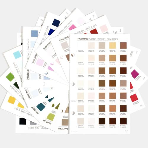 Suplemento 315 colores Pantone Cotton Planner